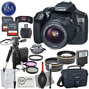 Canon EOS Rebel T6 DSLR Camera + K&M Bundle