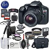 Canon EOS Rebel T6 DSLR Camera w/ EF-S 18-55mm Lens + Premium Accessory Bundle