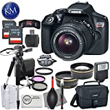 Canon EOS Rebel T6 DSLR Camera w/ EF-S 18-55mm Lens + Premium Accessory