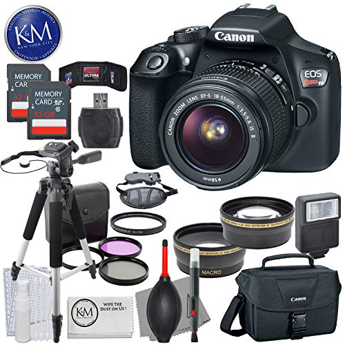 Canon EOS Rebel T6 DSLR Camera w/ EF-S 18-55mm Lens + Premiu