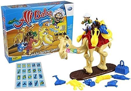 BSD Juego de Sociedad Alibaba - Juego Riflejo de Camello Pateando: Amazon.es: Juguetes y juegos