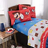 Nintendo Super Mario Caps Off Full Sheet Set, 4 Pc