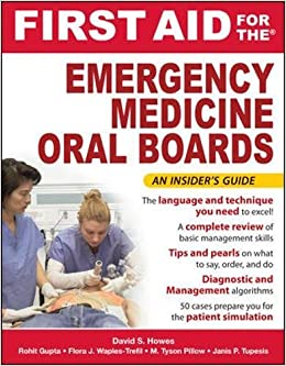 First Aid for the Emergency Medicine Oral Boards McGraw-Hill
