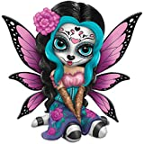 Jasmine Becket Griffith Bright Sofia Sugar Skull Fairy Figurine With Remarque by The Hamilton Collection