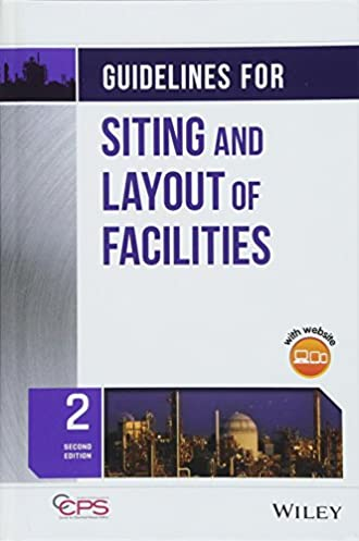 guidelines for siting and layout of facilities ccps center for rh amazon com Facility Siting Study