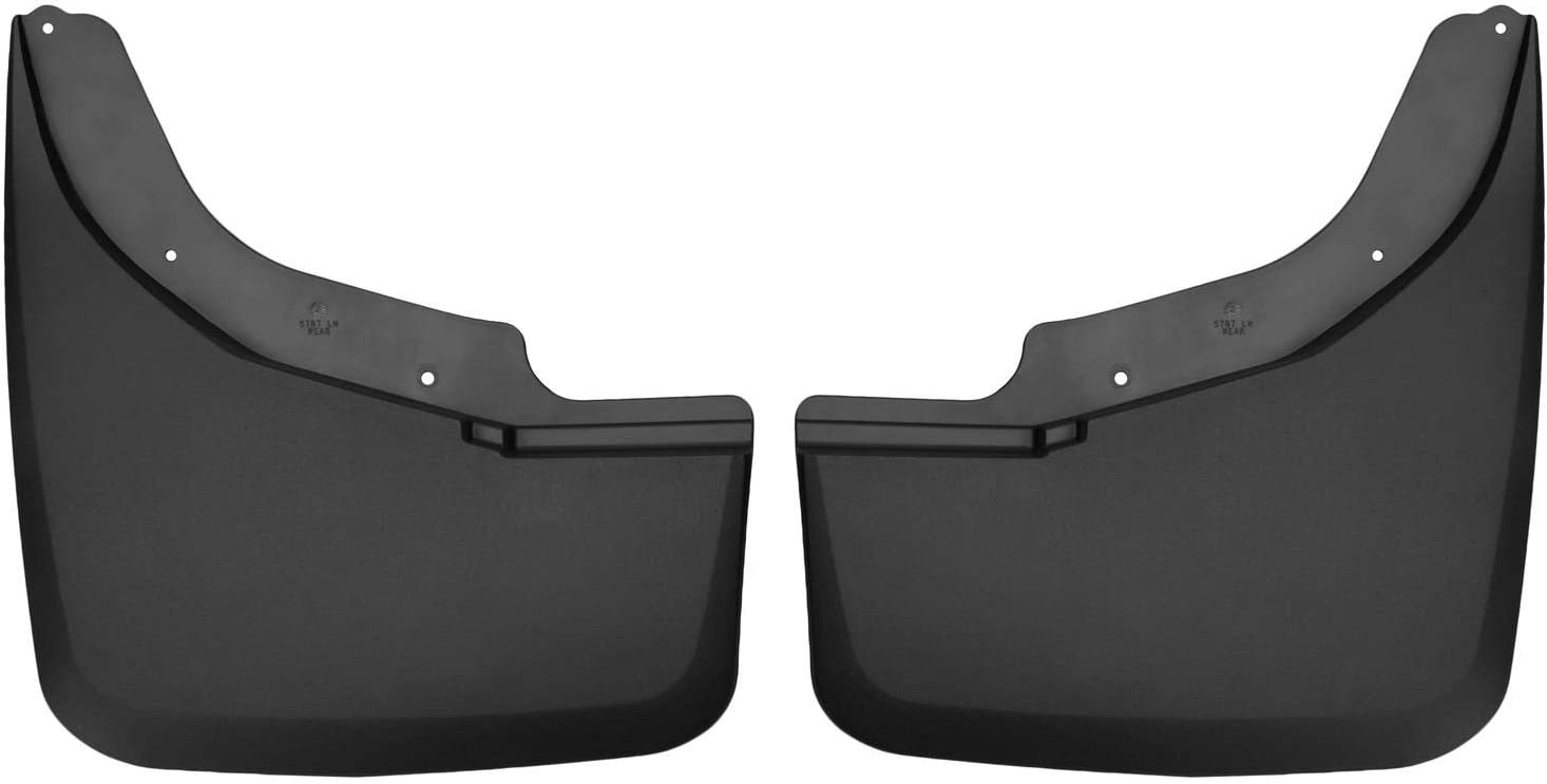 2015-2019 Chevrolet Silverado GMC Sierra Dually Front and Rear Wheel Mud Flaps