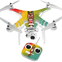Skin For DJI Phantom 3 Standard – Tiki Man | MightySkins Protective, Durable, and Unique Vinyl Decal wrap cover | Easy To Apply, Remove, and Change Styles | Made in the USA
