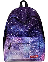Runningtiger Unique Print Casual Backpacks For Womens Tennager Girls Kids School bags …
