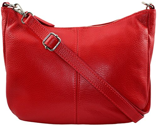 CHLOLY bandouliere Cuir Italie Mamamia Clair Sac Rouge rUOz5wnrq