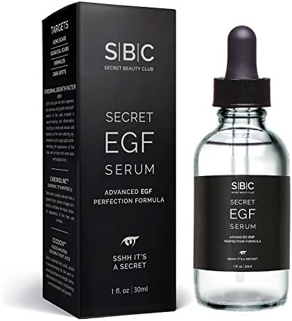 EGF Serum – Our Best Skin Regeneration & Repair Serum – Scar Reducing - Diminish Appearance of Fine Lines, Wrinkles, Acne Scars & Blemishes