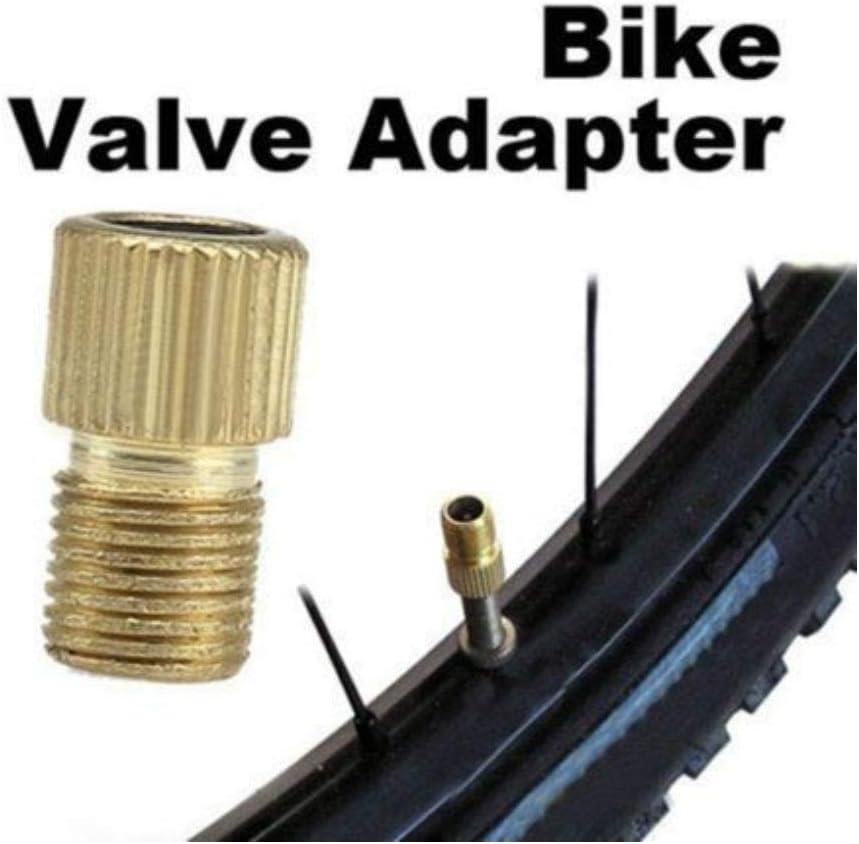 Presta Schrader Cycle Valve Tube Converter Bike Tire Pump Valve Adaptor