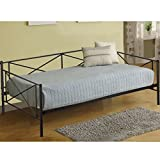 Daybed Metal Daybed Frame Twin with Steel Slats Bed Frame Box Spring Replacement Review