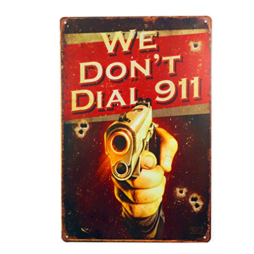 sign we dont dial 911 - 6