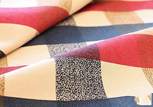 BlauLSS Europäischen Stil einfach karierte Muster Baumwolle Tischdecken staubdichte Abdeckung Tischdecke für zu Hause Picknick oder Hochzeit, Weiss, 6060 cm B07CPTSW5K Tischdecken Sonderpreis     | Verschiedene aktuelle Designs