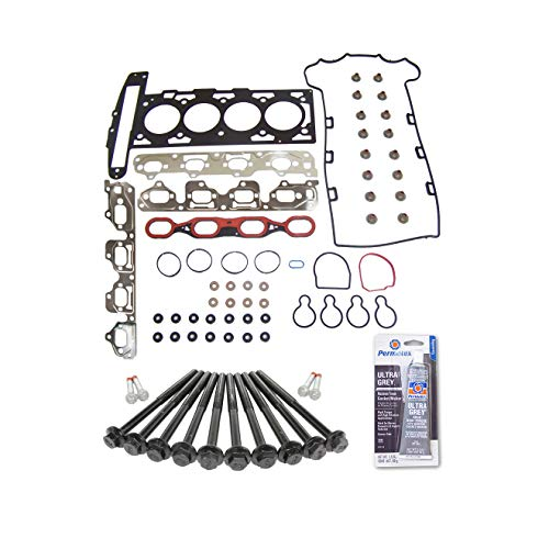 Head Gasket Set Bolt Kit Fits: 00-07 Chevrolet HHR Malibu Pontiac Saturn 2.2L DOHC