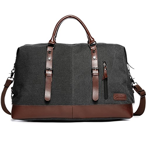 Best Graduation Gifts For Guys - Carry on Bag Canvas Leather Weekender