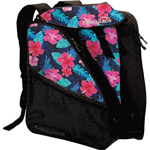 Transpack Edge Junior Ski Boot Bag 2017 - Pink Hibiscus