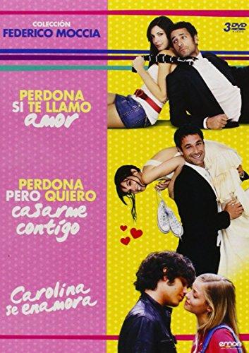 Pack Federico Moccia Perdona Si Te Llamo Amor + Perdona Pero Quiero Casarme Contigo + Carolina Se Enamora [DVD]