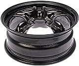 Dorman 939-110 Black Steel Road Wheel 16x6.5''/5x110mm with 40mm Offset