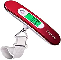 FREETOO -Portable Luggage  Digital Scale with Tare Function