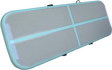 Amazon.com: Focussexy Inflatable Gymnastics Tumbling Mat Air ...