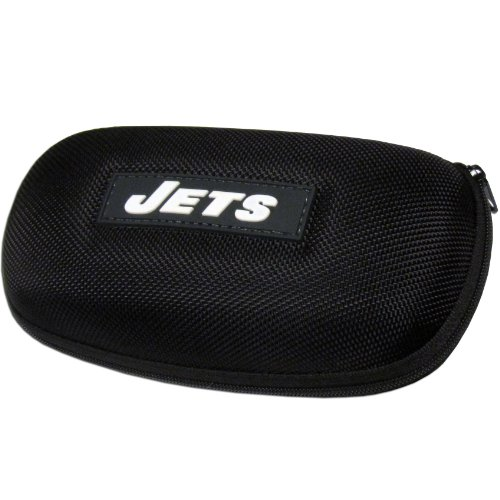 NFL Jets Zippered Sunglass - Case Nfl Molded