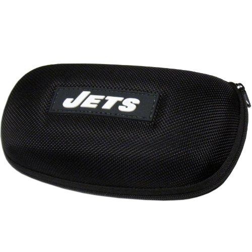 NFL Jets Zippered Sunglass - Case Molded Nfl