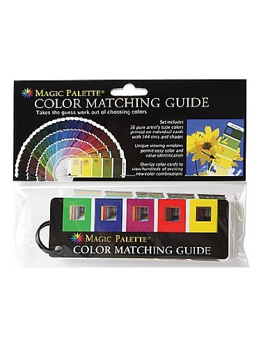 The Color Wheel Company Magic Palette Color Matching Guide each by The Color Wheel (Magic Color Wheel)