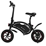 Cheap ANCHEER Folding Electric Bicycle/E-Bike/Scooter 350W Ebike with 12 Mile Range, APP Speed Setting (Black)