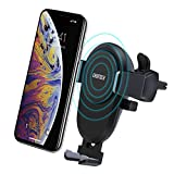 Wireless Car Charger, CHOETECH Fast Wireless Car Charging Air Vent Mount 7.5W Fast Charge for iPhone XS XS Max XR X 8 Plus 8, 10W Fast Charge for Samsung Galaxy S9 S8 Plus Note 9/8 and More Qi Devices