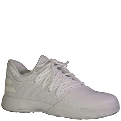 online retailer 6a279 031f1 Amazon.com   adidas Kid s Harden Vol 1 Boys Basketball Running White Running  White Legend Ink   Shoes