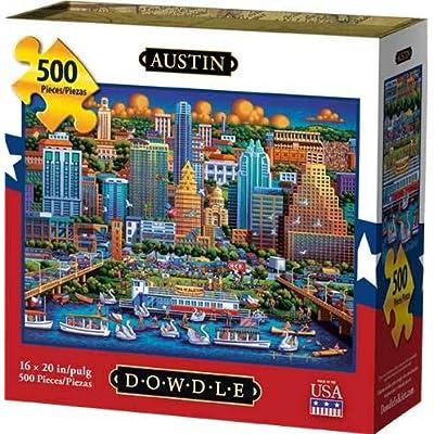 Dowdle Jigsaw Puzzle - Austin - 500 Piece: Toys & Games [5Bkhe0904491]