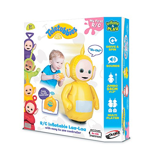 DHX Teletubbies R/C Inflatable Teletubbies Laa Remote Controlled Doll