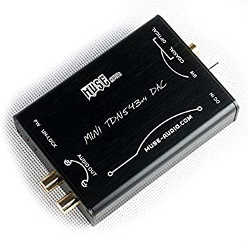 Muse HIFI DAC DIR9001 + 4 x TDA1543 PC Decoder Convertidor ...