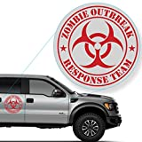 Zombie Outbreak Response Team Decal Sticker for Car Window, Laptop and More. # 555 (10