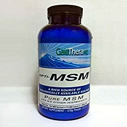 Exsula Superfoods OptiMSM Bioavailable Organic Sulfur - Use to Deal with Pain, Inflammation, Chronic Fatigue, Toxic Load (Powder: 570 g)