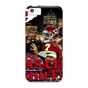 For Iphone 5c Premium Tpu Case Cover Kansas City Chiefs Protective Case