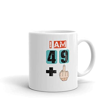 Amazon IM 49 Plus Middle Finger Mug