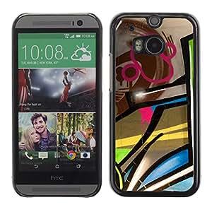 Print Motif Coque de protection Case Cover // V00002304 Pintada // HTC One M8