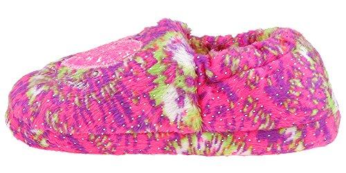 LA GEAR Love Tie-Dye Printed Moccasin Multi Combo Multi Combo 8/9 by LA Gear (Image #2)'