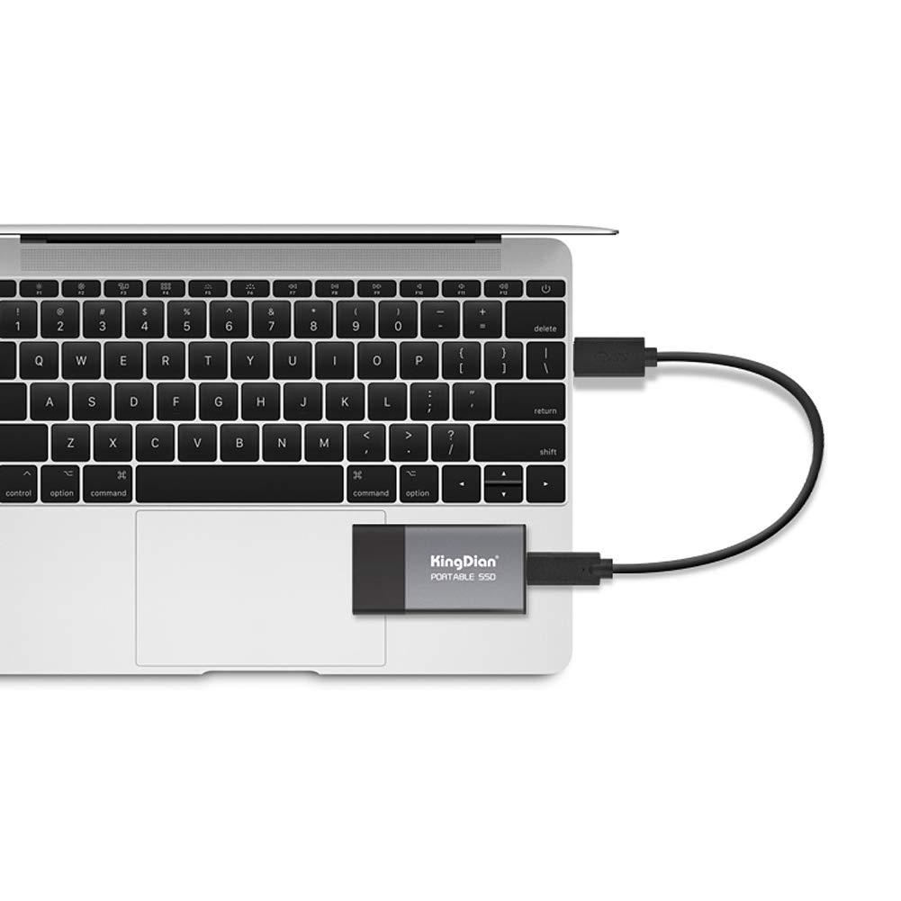KingDian 120gb 240gb External SSD USB 3.0 Portable Solid State Drive (P10 240GB) by KingDian (Image #3)