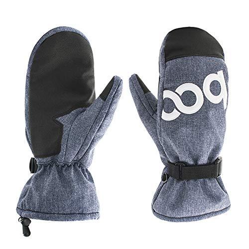 Men/Women Waterproof Ski Mittens,Warmest Winter Gloves for Skiing Snowboarding