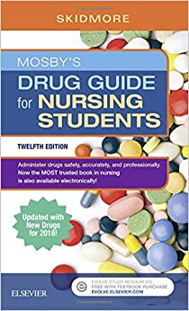 Mosby's Drug Guide for Nursing Students with 2018 Update, 12e