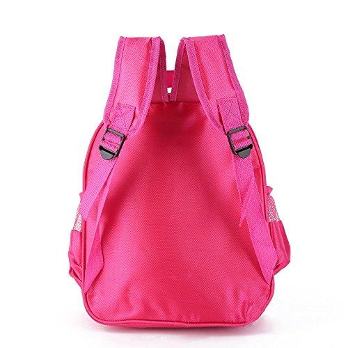Toddler Kids Yin Yang Yo School Backpack Funny Baby Boys Girls School Bag Pink