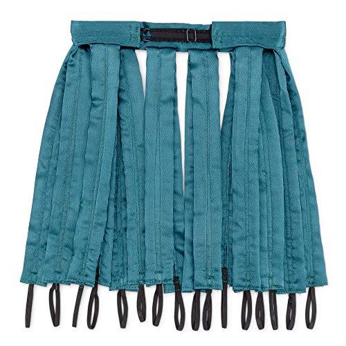Octocurl: No Heat Curlers - Soft Hair Rollers for Overnight Sleep (Satin Jade Mermaid)