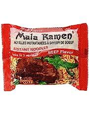Mala Ramen Instant Noodle - Beef Noodles 85G (Case of 24) 2.04 Kg - Cooks in 3 Minutes
