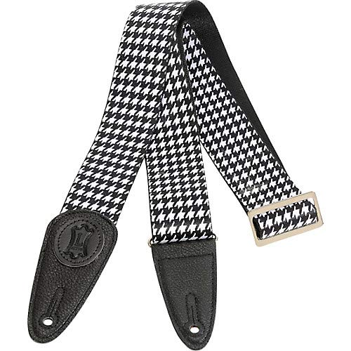 2 in Sublimation Houndstooth Guitar Strap