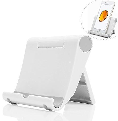 Dosige Soporte Móvil télefono, Soporte Multiángulo Ajustable para iPad Tabletas iPhone X/8 Plus