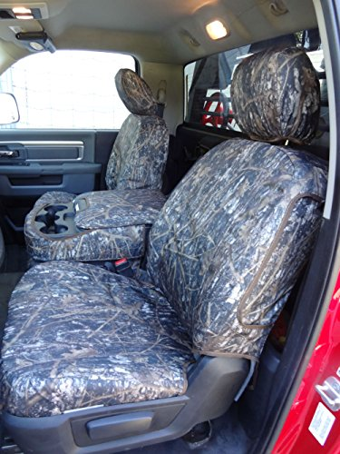 Durafit Seat Covers, DG29 DS1 c Seat Covers Made in Tree Camo Endura for 2013-2017 Dodge Ram Crew Cab Front and Back Seat Set.