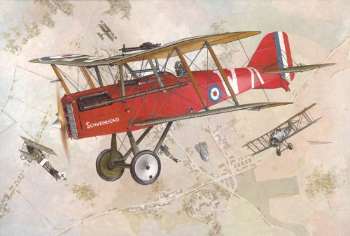 Roden 607 Modellbausatz RAF S.E.5a w/Wolseley Viper